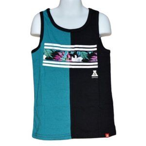 Boy's Tropical Boating Tank Top